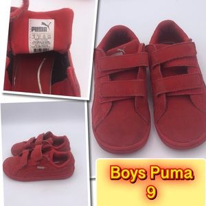 Puma little Boys size 9